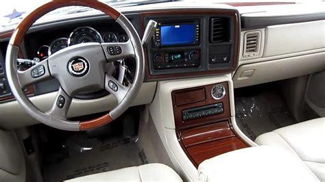 how to fix cars 2005 cadillac escalade interior 2004 cadillac escalade black stock a257716 interior youtube