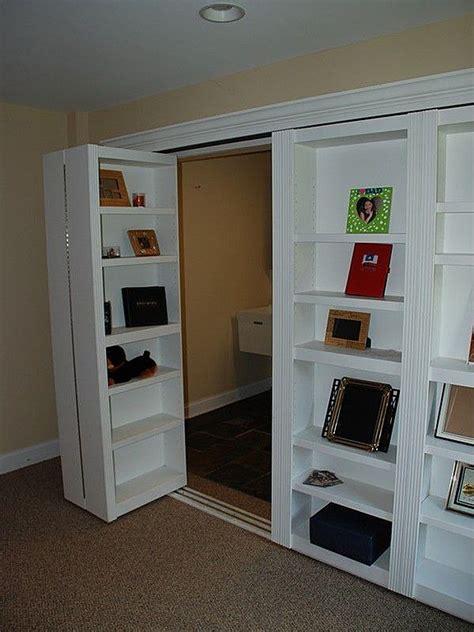 How To Hide A Closet Door Secret Bookcase Door Stashvault