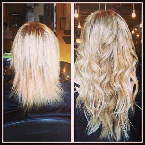 before after hair extensions 1000 images about hair extensions before and after on