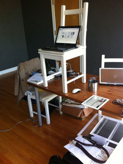 Diy Standing Desks Archives Shelterness Diy Standing Desk
