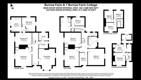 the burrow floor plan 3 bedroom semi detached house for sale in burrow farm cottage stoke canon exeter ex5