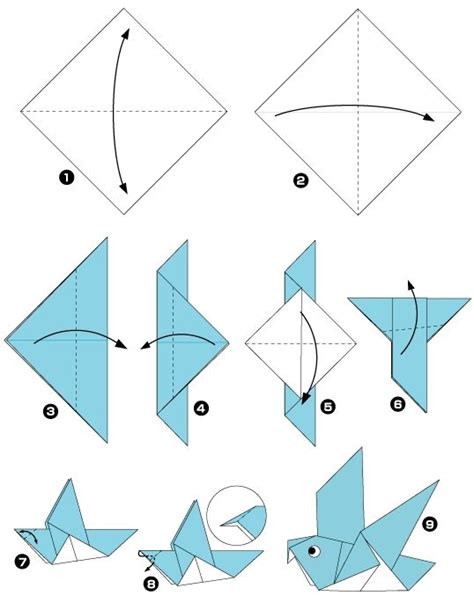 membuat origami burung merak diy 11 cara membuat origami burung gt do it yourself