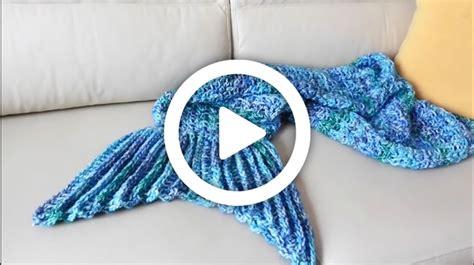 cola de sirena en crochet manta de cola de sirena a crochet tutorial paso a paso