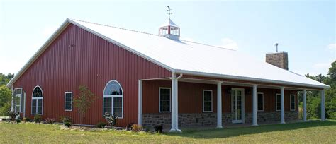 metal barn homes metal building house pole barn homes pinterest