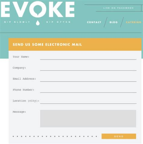 design html form using div 6 beautiful contact form designs you can steal css exles