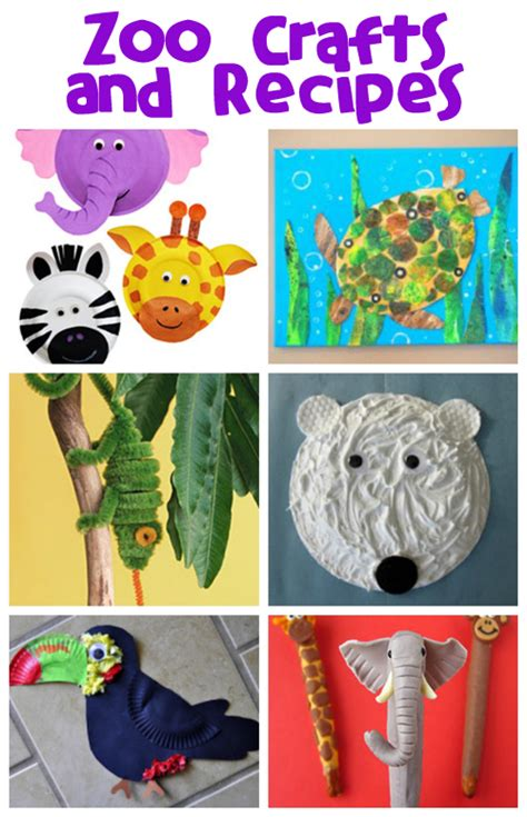zoo animal crafts for zoo animals crafts for toddlers images