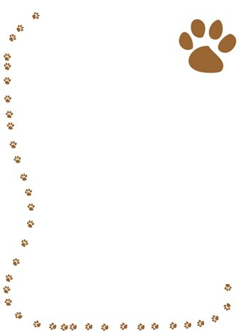 free printable dog stationery free dog borders download free clip art free clip art on