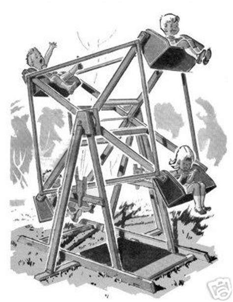 backyard ferris wheel backyard plans ferris wheels roller coasters more
