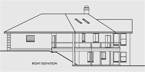 free home plans sloping land house plans ranch house plans daylight basement house plans sloping lot