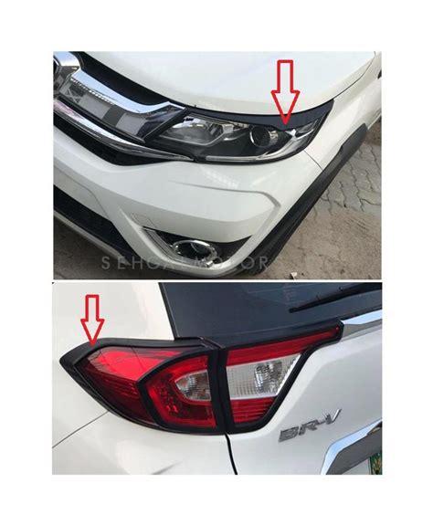 Honda Brv Cover Premium Durable Black buy honda brv headlight and back light frame black color 4 pieces model 2017 2018 in pakistan