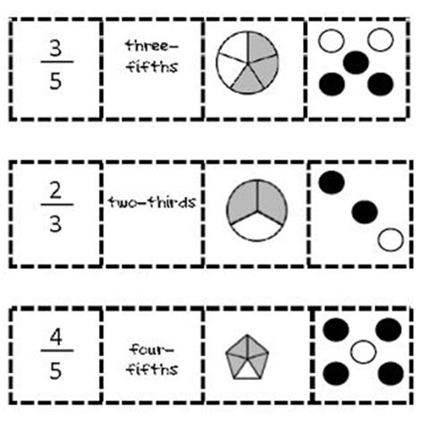 printable fraction dice printable fraction games for first grade subtraction