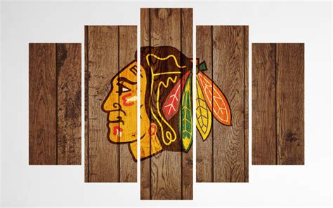 Chicago Blackhawks Canvas Wall