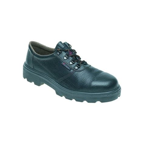 toesavers black leather safety shoe code c002sm safety