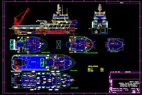 ship dwg oil tender supplier ship dwg plan for autocad designs cad
