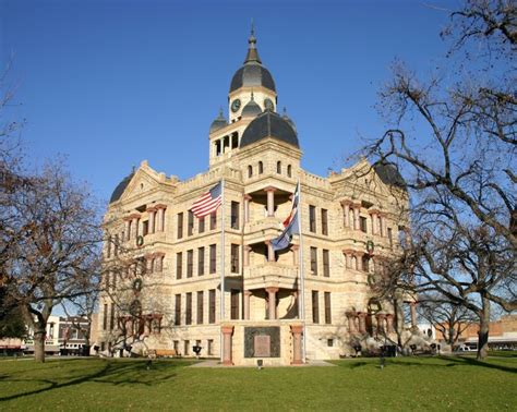 Denton Tx Court Records Pin By Lakes Trail Region On Historic Courthouses