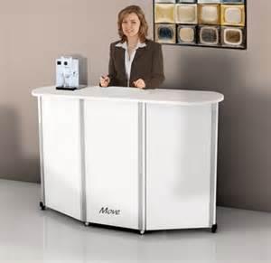 Mobile Reception Desk Budget Mobile Reception Desk Counter Move Office Reality