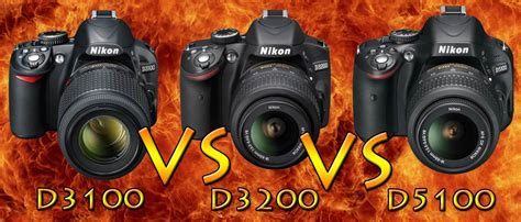 Kamera Nikon D3200 Vs Nikon D5100 nikon d3100 vs d3200 vs d5100