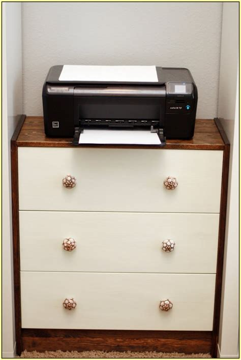 desk with printer drawer printer stand ikea a smart solution to organize your