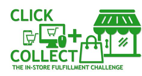 how to collect click and collect the in store fulfillment challenge