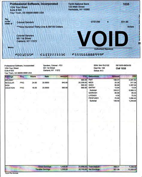 Pin Employee Earnings Statement Template On Pinterest Free Employee Earnings Statement Template