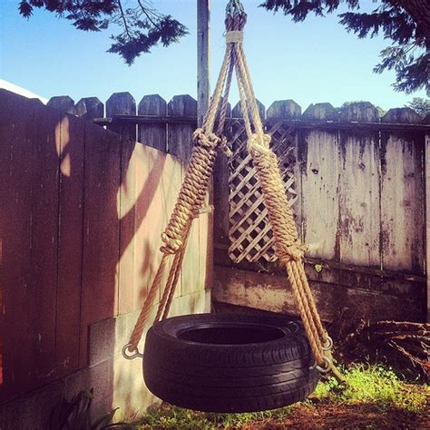 how do you make a tire swing how to make a tire swing nothing but bonfires it