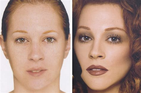 contour light sculpting before and after 30 before after photos that shows the power of makeup