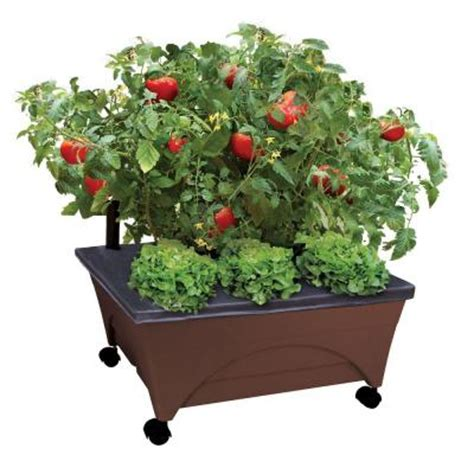 city pickers 24 5 in x 20 5 in patio raised garden bed
