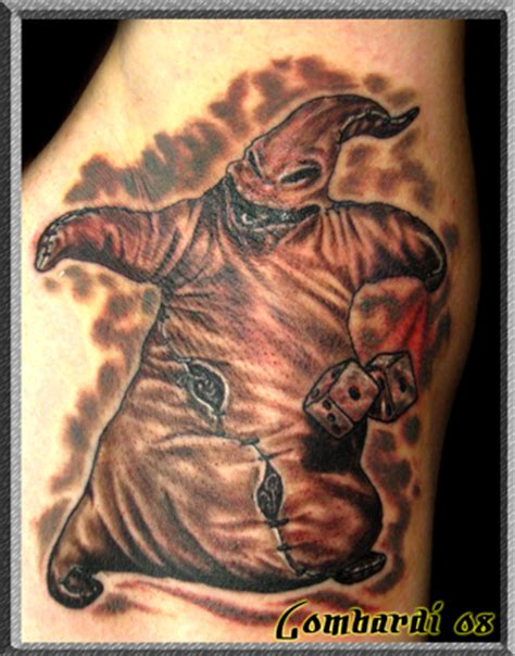 oogie boogie tattoo mr oogie boogie by chris lombardi tattoonow