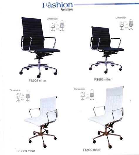 Kursi Kerja Kantor Staf Receipsionist Tamu Komputer Meeting Hitam january 2015 www kursikantor77