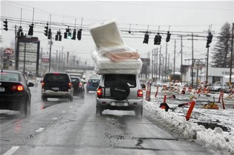 How To Move A Mattress On A Car by Dumb Question Is Moving Mattress On Top Of Car In
