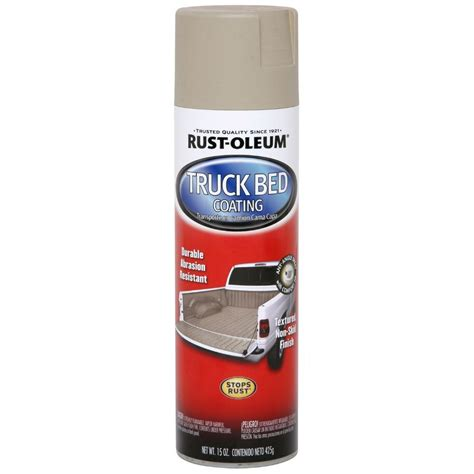 Rust Oleum Automotive 15 oz. Tan Truck Bed Coating Spray