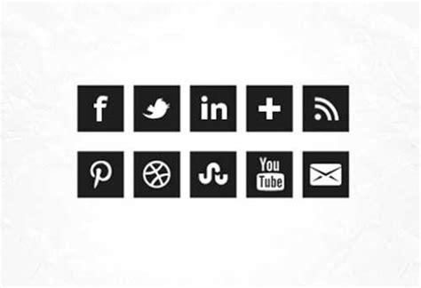 imagenes de redes sociales blanco y negro iconos redes sociales descarga los packs territorio