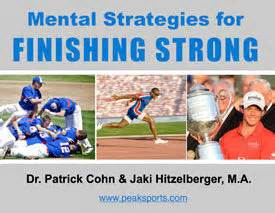 sports psychology for athletes think like a chion and like a warrior books sport psychology and strong finish peak performance sports