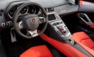 Lamborghini Aventador Inside Car And Driver
