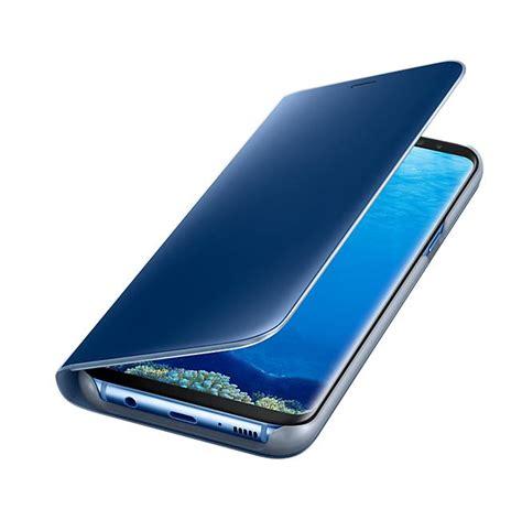 Original Samsung Galaxy S8 Clear View Stand Cover Silver samsung clear view stand cover ef zg955clegww оригинален кейс с поставка през който виждате