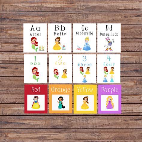 princess alphabet flash cards printable flash cards princess alphabet cards learning toys