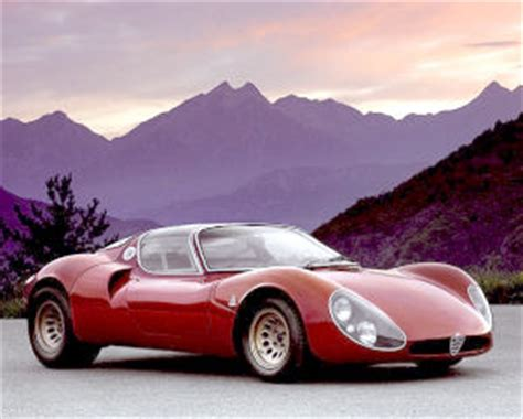 Is the Alfa Romeo 33 Stradale the most beautiful car ever