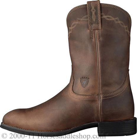 roper s boots s ariat distressed brown heritage roper boots 10002284