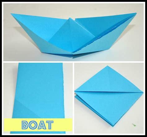 Origami San Boat - paper boat origami 2016