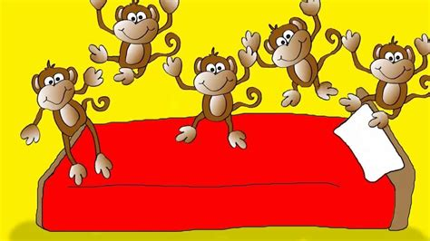 Monkeys Jumping On The Bed by Five Monkeys Child S Spot