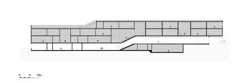 circum section school building in deutsch wagram franz architekten