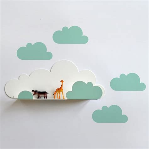 Regal Wolke by Kleines Wandregal Quot Wolke Quot Mint 38 90