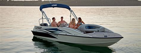 aluminum fishing boat packages 2016 sd224 fishing ski aluminum deck boat lowe boats