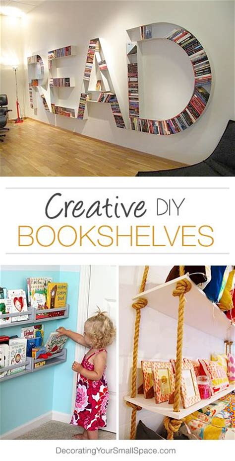 bookshelves creative and tutorials on