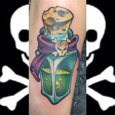 poison tattoo the map