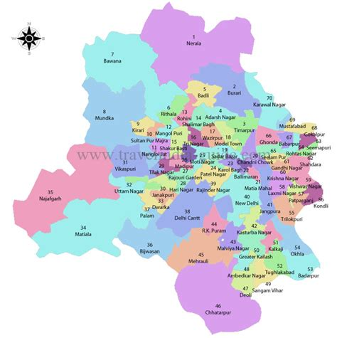 political map of delhi diary of an inquisitive mind daily travails of vulnerable