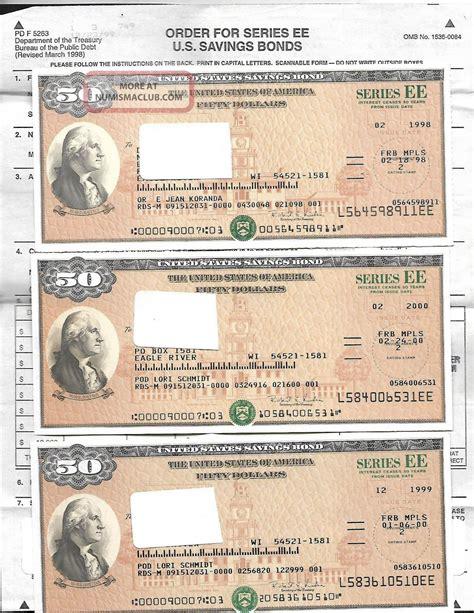 where to get savings bonds us savings bond uncanceled 3 50 00 savings bond series