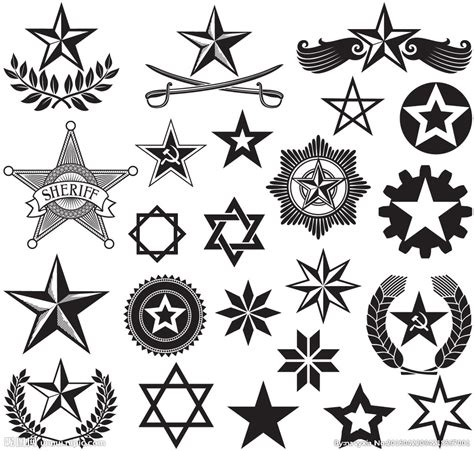 五角星素材图片 五角星素材图片下载