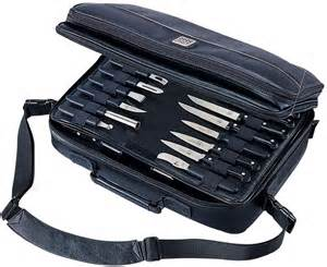 Case Cutlery Kitchen Knives by Mercer Cutlery Executive Knife Case Bag Holds Up To 30