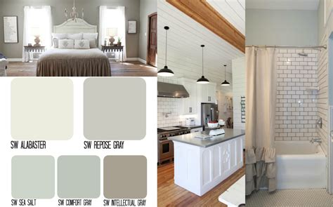 whole house color palette 2017 fixer upper inspired whole house color schemes the